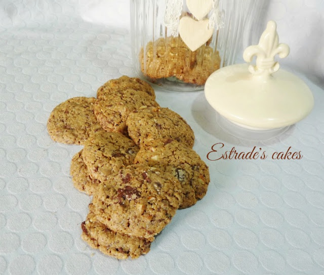 Receta de cookies integrales 5