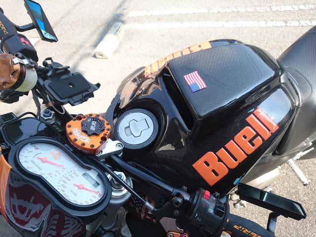 国旗3Dステッカー,バイク,星条旗,アメリカ,Buell,樹脂ステッカー