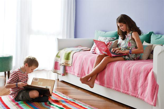 deco alfombra rayas crochet - Ideas para un cuarto de una preadolescente…