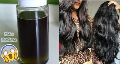 óleo para encorpar o cabelo caseiro