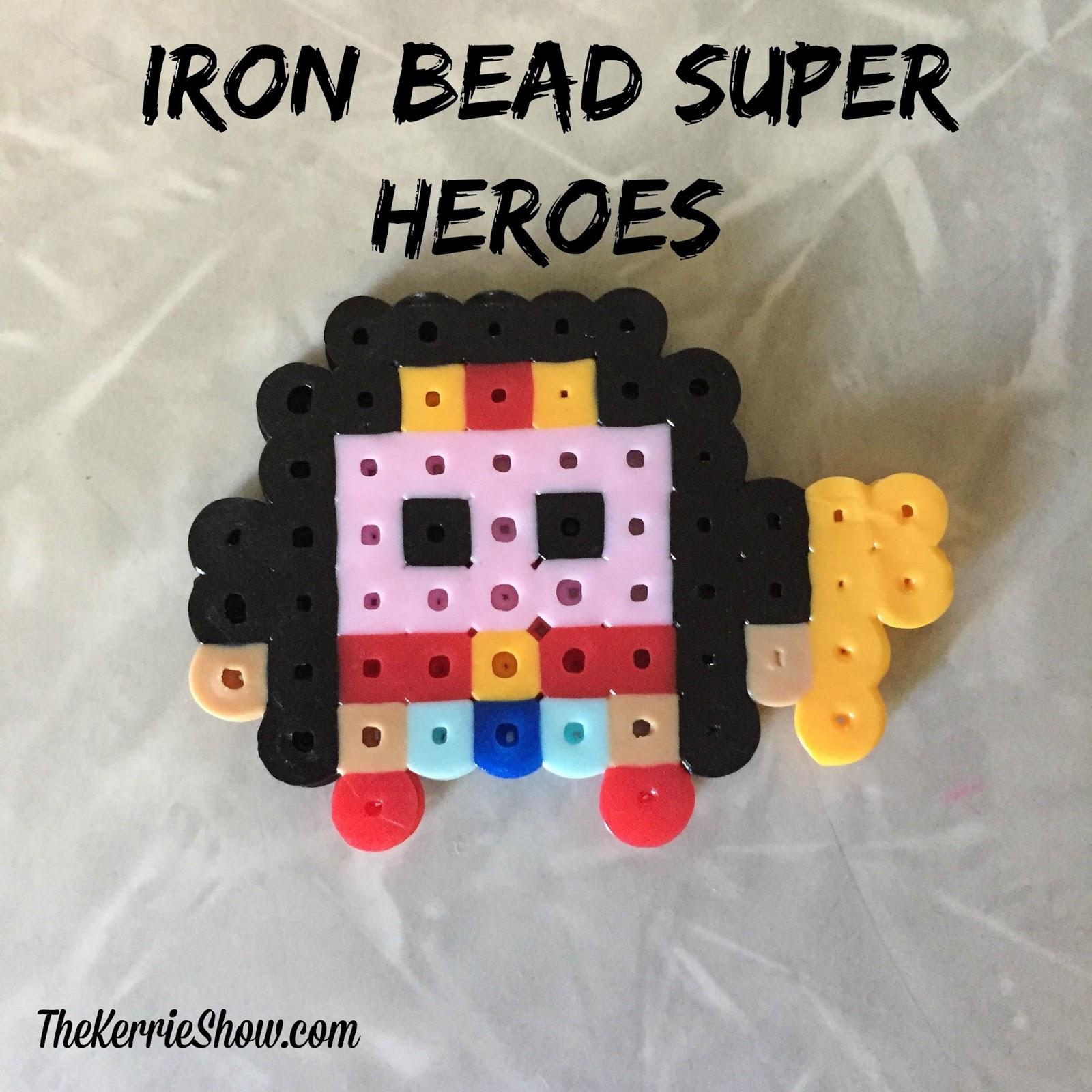 The Kerrie Show Perler Iron Bead Heroes Summerkidfun