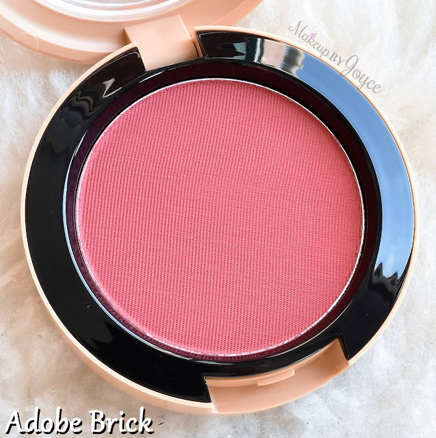 Mac Adobe Brick Powder Blush Vibe Tribe Collection Review