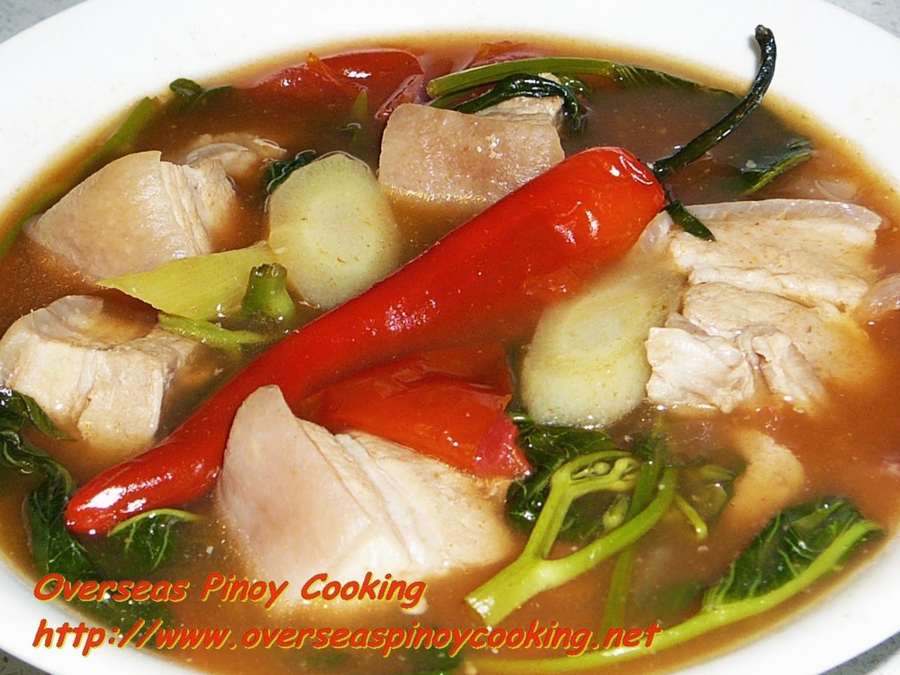 Red Pork Sinigang