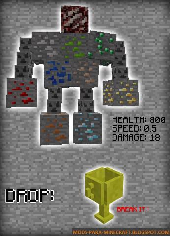 El Jefe - Fake Ores Mod para Minecraft 1.8/1.8.9