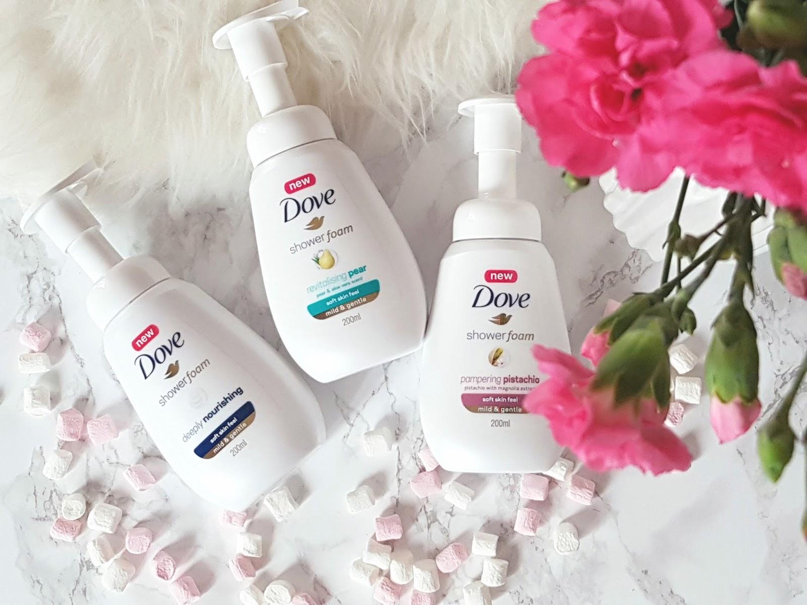 NOWE Dove pianki pod prysznic - lekka pielęgnacja ciała