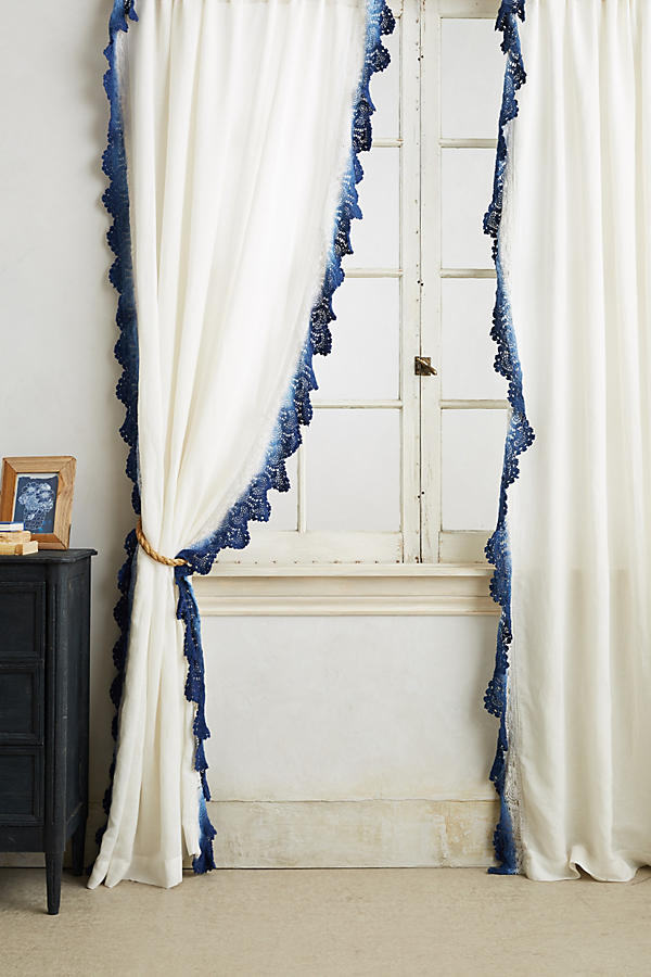 Diy Knock Off Anthropologie Curtain Restyle It Wright