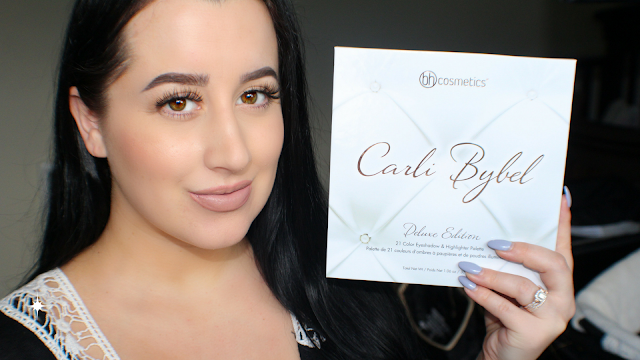 BH Cosmetics Carli Bybel Deluxe Edition Palette Review & Swatches