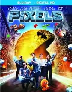 Pixels (2015) 480p 350MB BRRip Hindi Dubbed Dual Audio [Hindi +