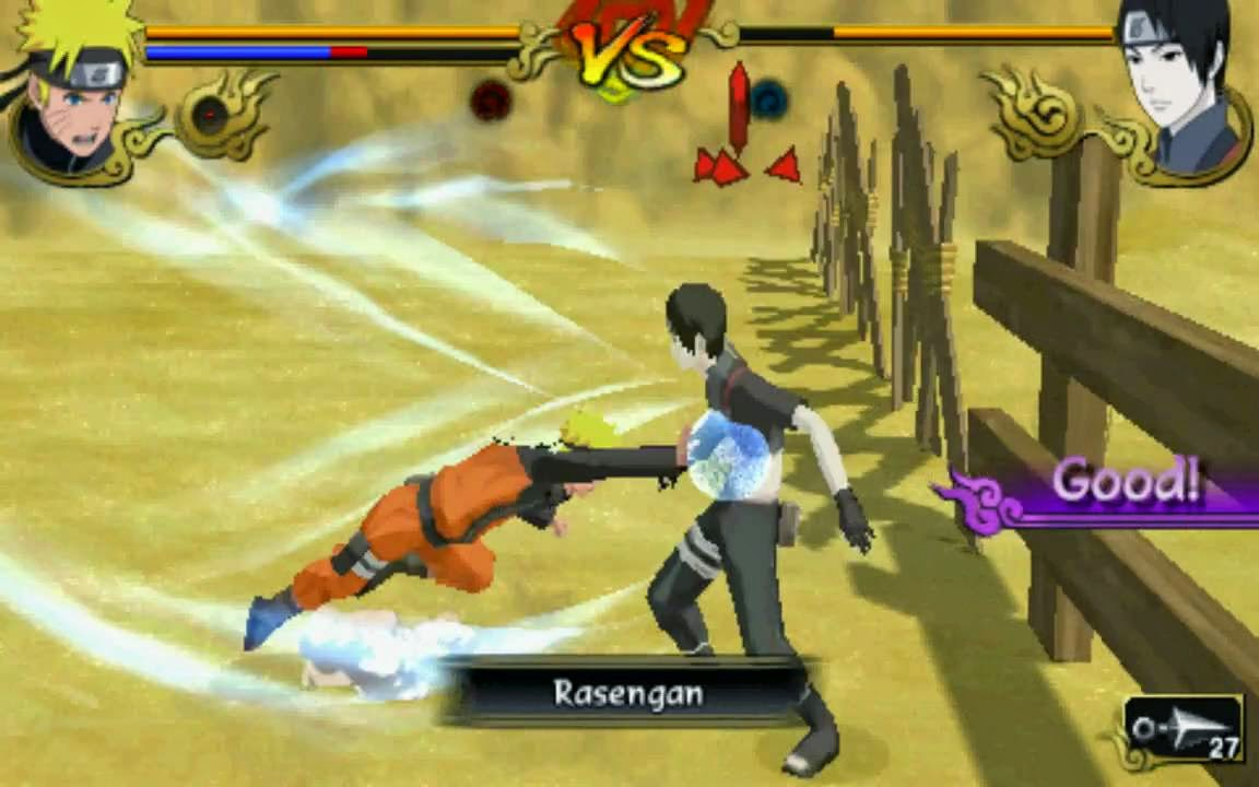Download game Naruto Shippuden - Legends Akatsuki Rising PSP for PC - Game Tegal