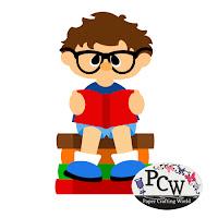 Boy Reading School Books SVG Cut File