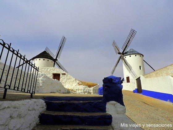 Ruta de los Molinos de viento, Campo de Criptana, Castilla la Mancha, Ciudad Real