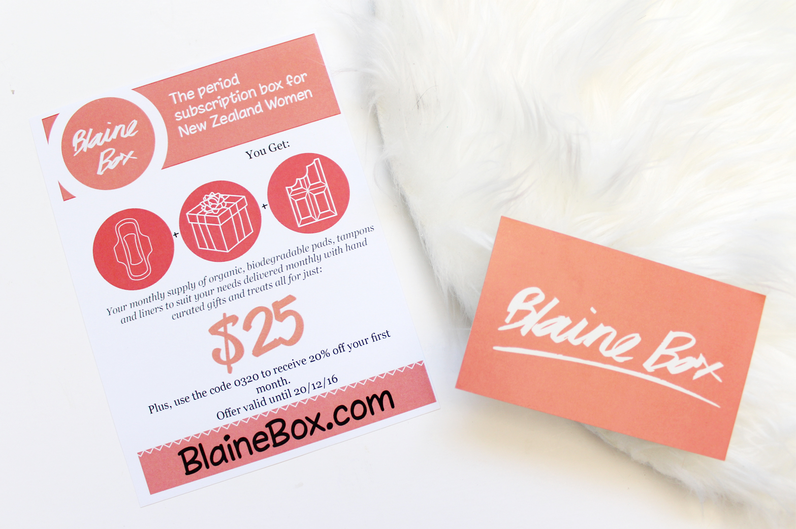 BLAINE BOX | Monthly Period Subscription Box NZ - CassandraMyee