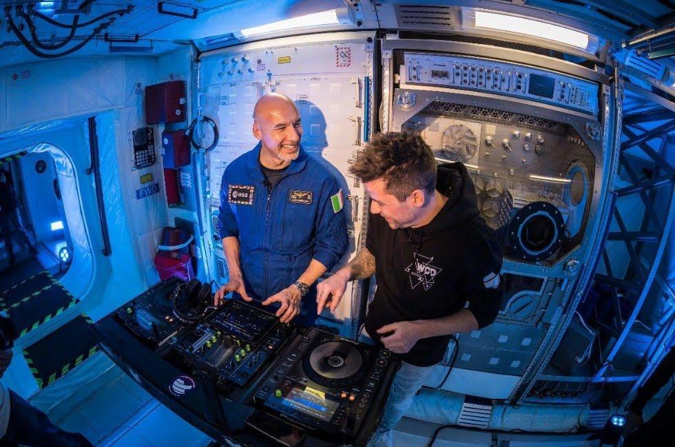 Luca Parmitano, primo Astronauta DJ Musica nello Spazio.