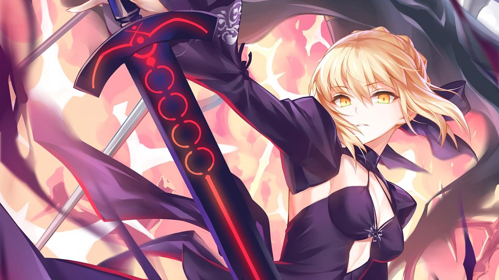 Fate AowVN%2B%25283%2529 - [ Hình Nền ] Anime Fate/GrandOrder tuyệt đẹp Full HD | Wallpaper