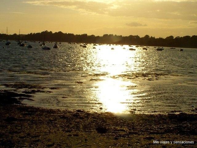 Golfo de Morbihan, Francia