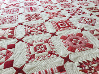 'Nearly Insane' quilt by Frances Meredith