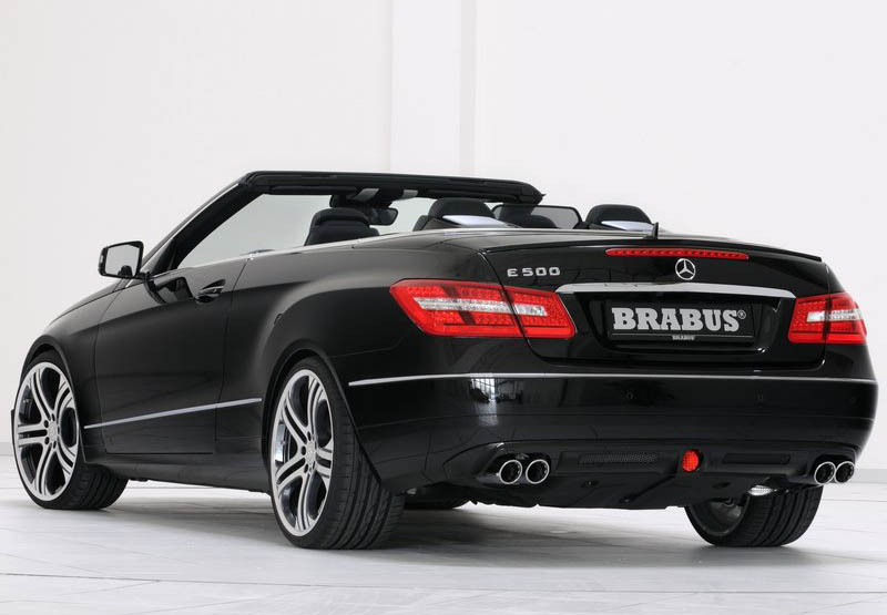 brabus mercedes benz e class cabriolet 2011. Black Bedroom Furniture Sets. Home Design Ideas