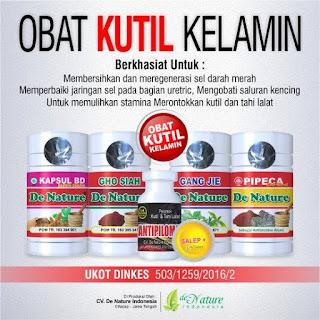 Obat Kutil Kelamin Herbal 100% Produk Aman Terdaftar di BPOM