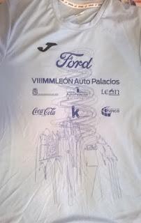Camiseta Media maratón de León