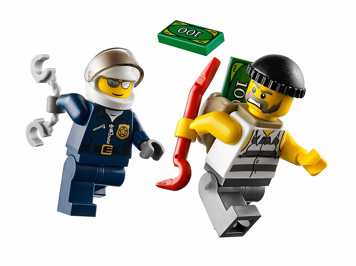 The Lego King: Lego City Crook Pursuit, High Speed Police ...