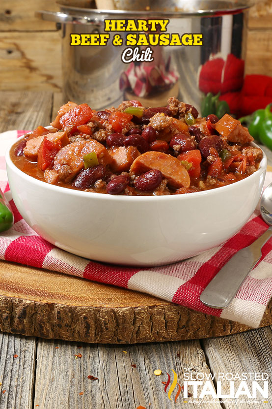 http://www.theslowroasteditalian.com/2017/09/hearty-beef-and-sausage-chili.html