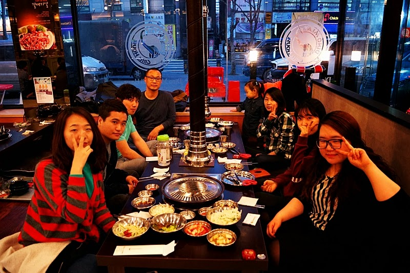 Birthday party for Amela Yu (Korea E Tour)