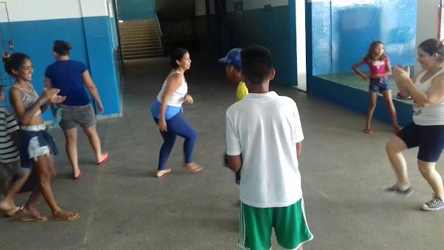 Programa Escola da Família retorna às atividades a todo vapor na Escola Yolanda em Cananéia
