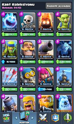 Clash Royale Kartlar