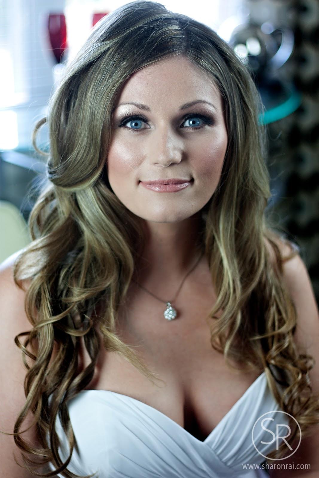 sharon rai hair & makeup artistry: hotel grand pacific wedding