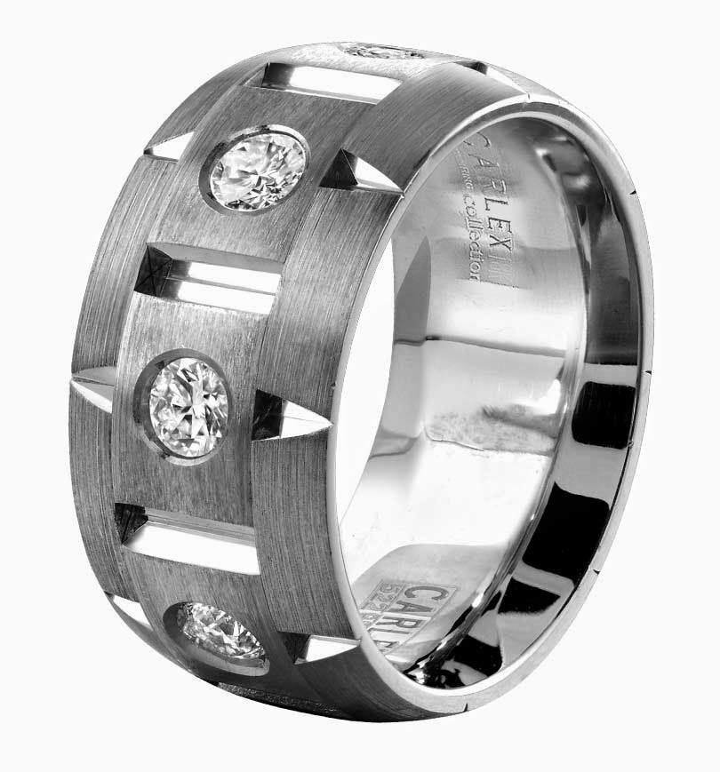 Zales Mens Diamond Wedding Bands Unique Carlex Model