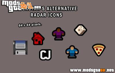 Ícones Rockstar para GTA SA