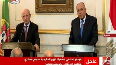 وزير خارجية البرتغال: مصر من الوجهات السياحية الجاذبة