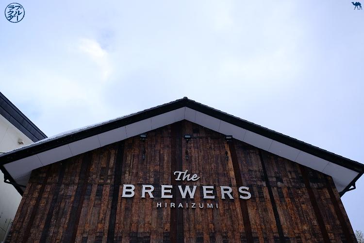 Le Chameau Bleu -  The brewers - Brasseurs de bière d'Hiraizumi - Tohoku