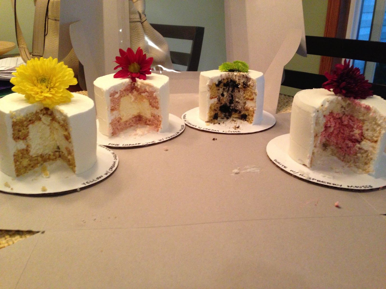 Wedding Tasting Cakes - Noel/Alderman