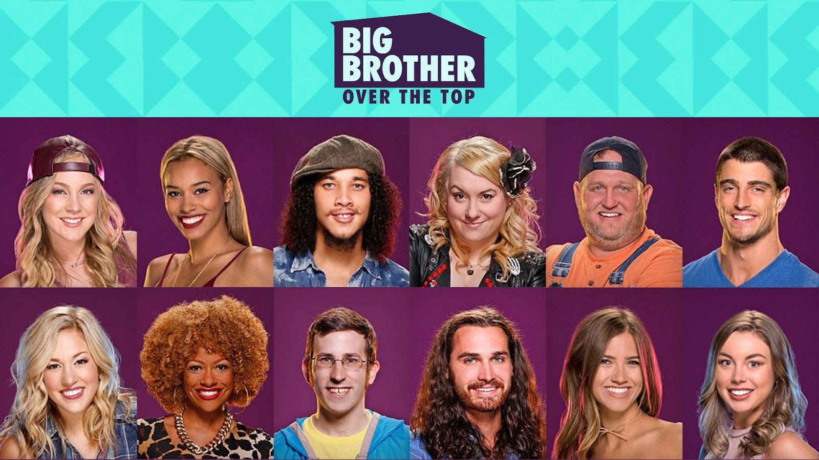 CBS Big Brother Over the Top houseguests BB19 pictures