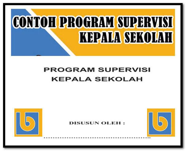 Contoh Program Supervisi Kepala Sekolah Format Words.Docx