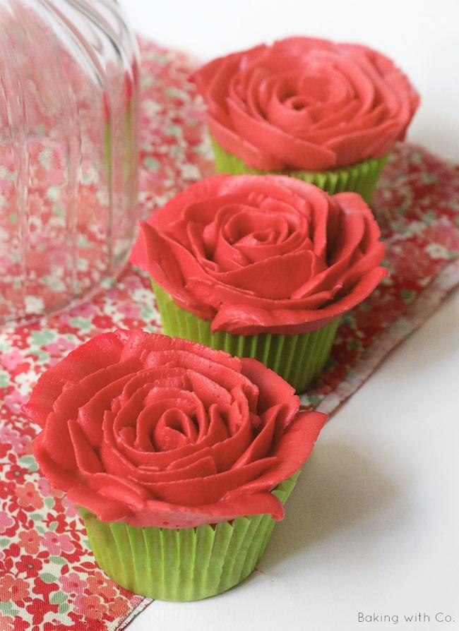 cupcakes de sant jordi