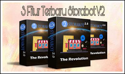 3 Fitur Terbaru Storabot Vol.2