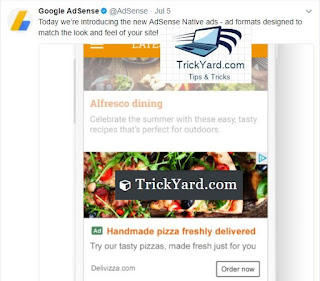 google adsense native ads