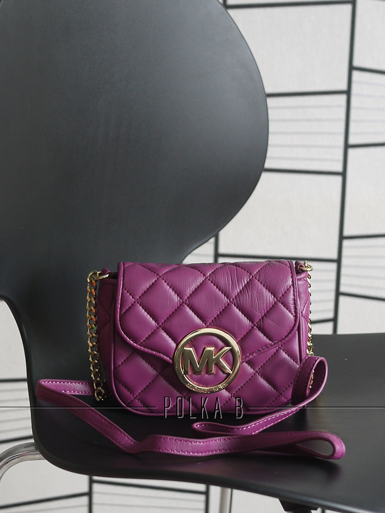 Michael Kors Small Fulton Quilted Leather Crossbody Bag