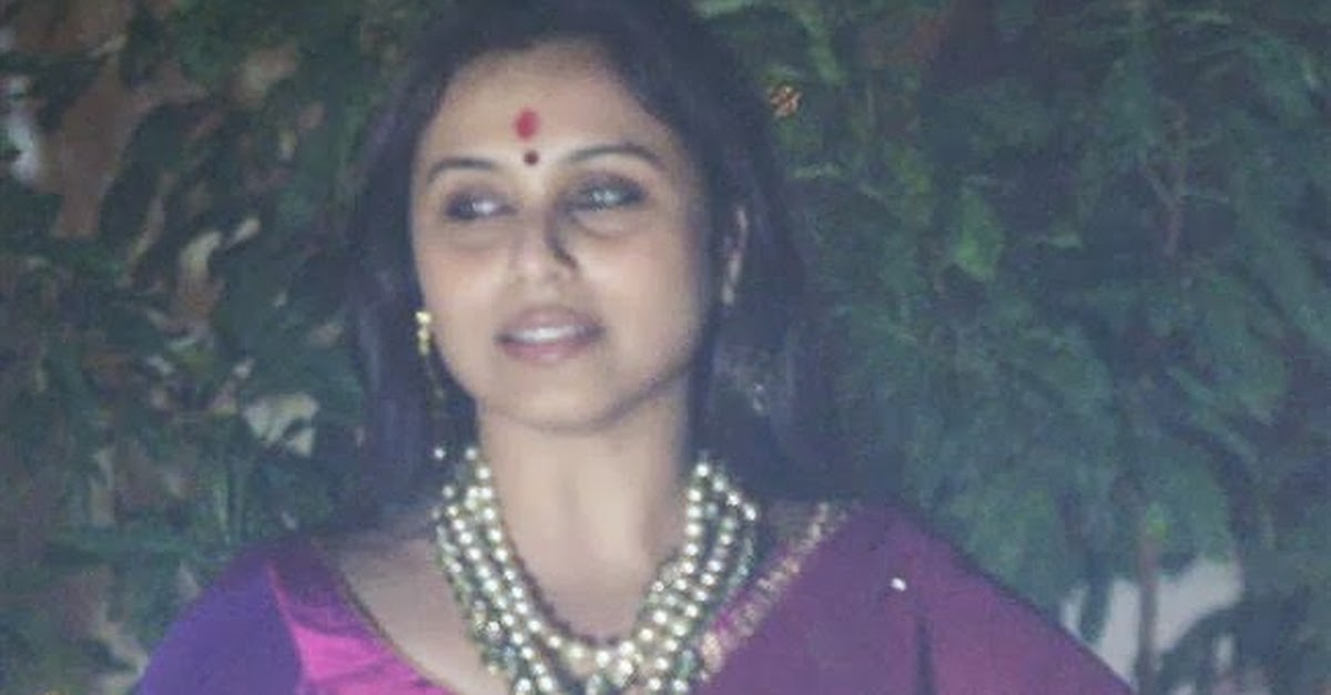 Rani Mukherjee at Aditya Chopra Diwali Bash 2013 - 7 Pics