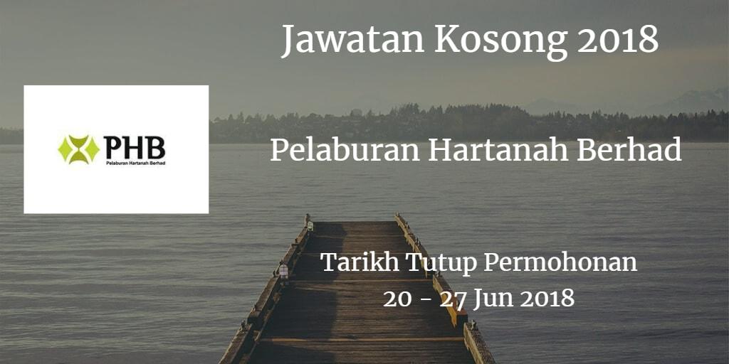Jawatan Kosong PHB 20 - 27 Jun 2018