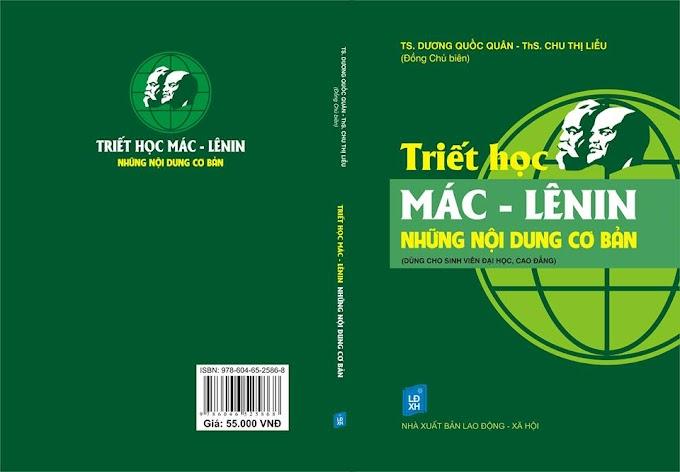 Sách mới: Triết học Mác – Lênin: những nội dung cơ bản (Dương Quốc Quân, Chu Thị Liễu)