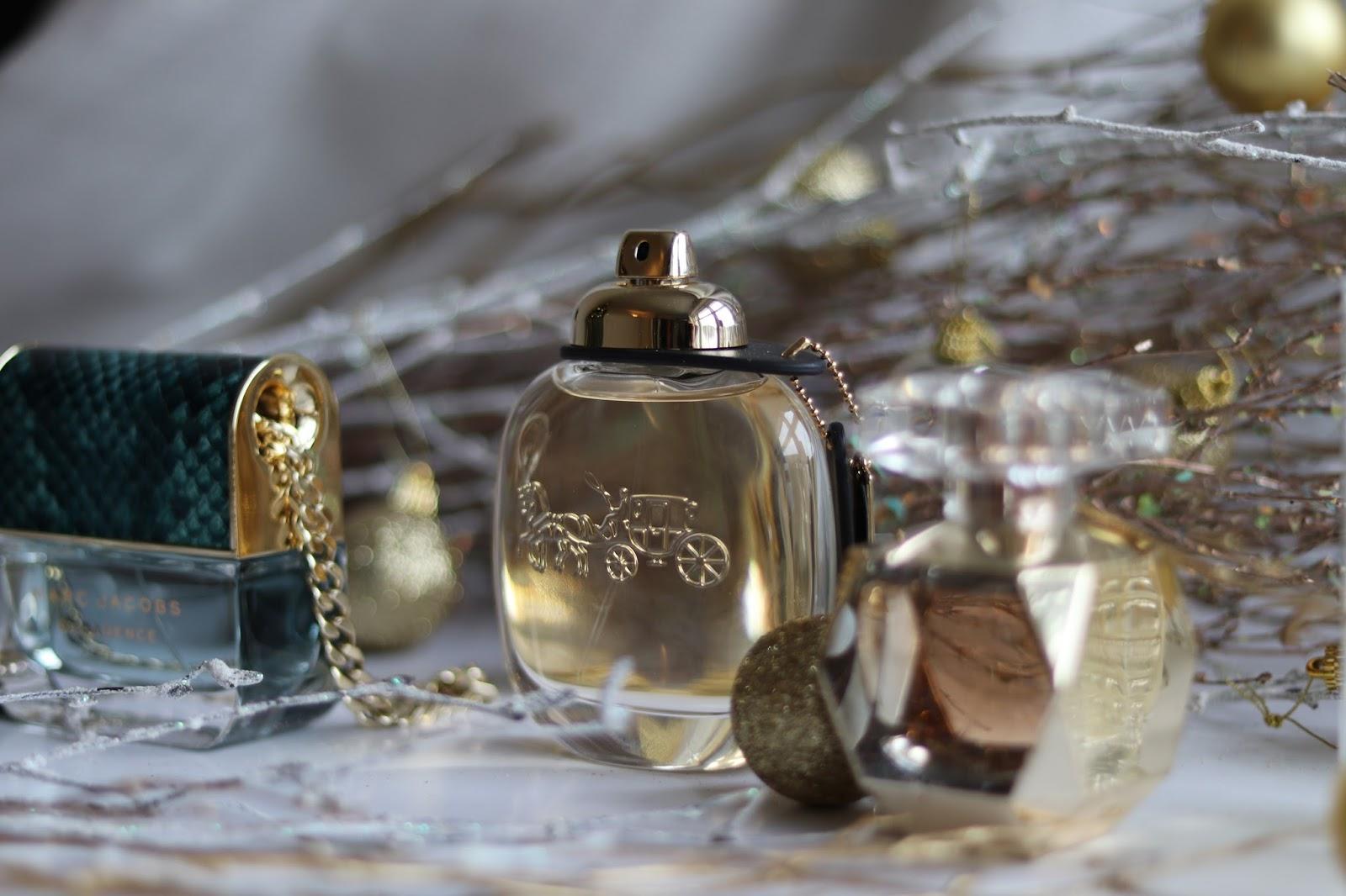 Coach Eau de Parfum, Elie Saab Le Parfum L'Edition Or, Marc Jacobs Decadence, Alaia Paris Eau de Parfum Blanche
