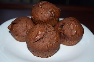 muffiny czekoladowe na deser