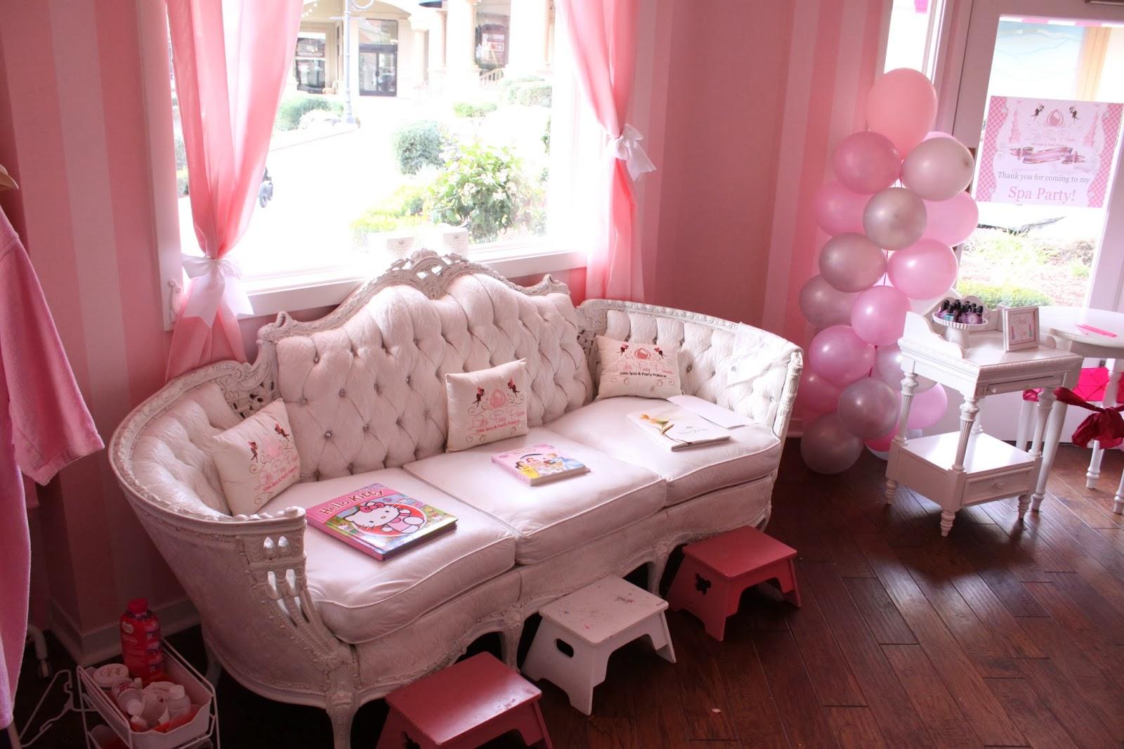 House Design Games Barbie The Larson Lingo Kate S Nail Salon Birthday Party