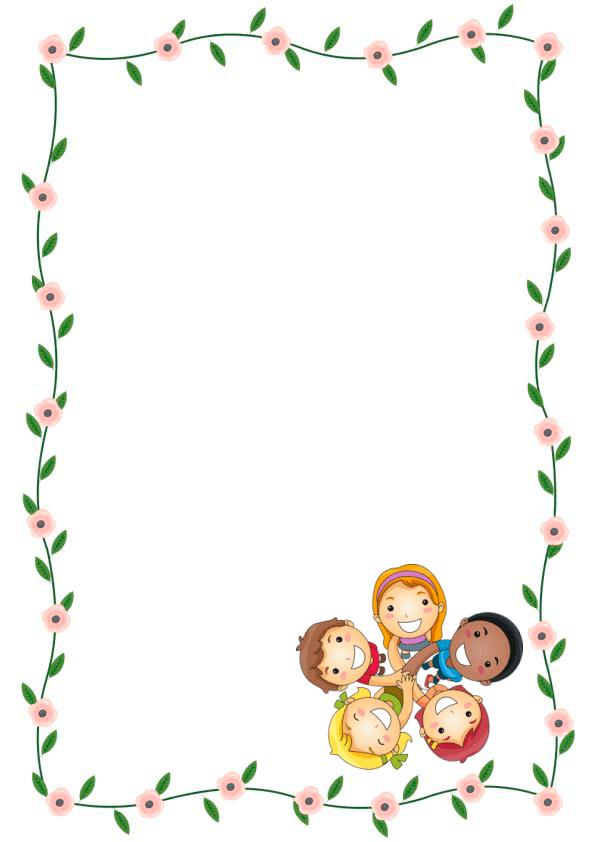 Caratulas de cuadernos para niños y niñas de inicial