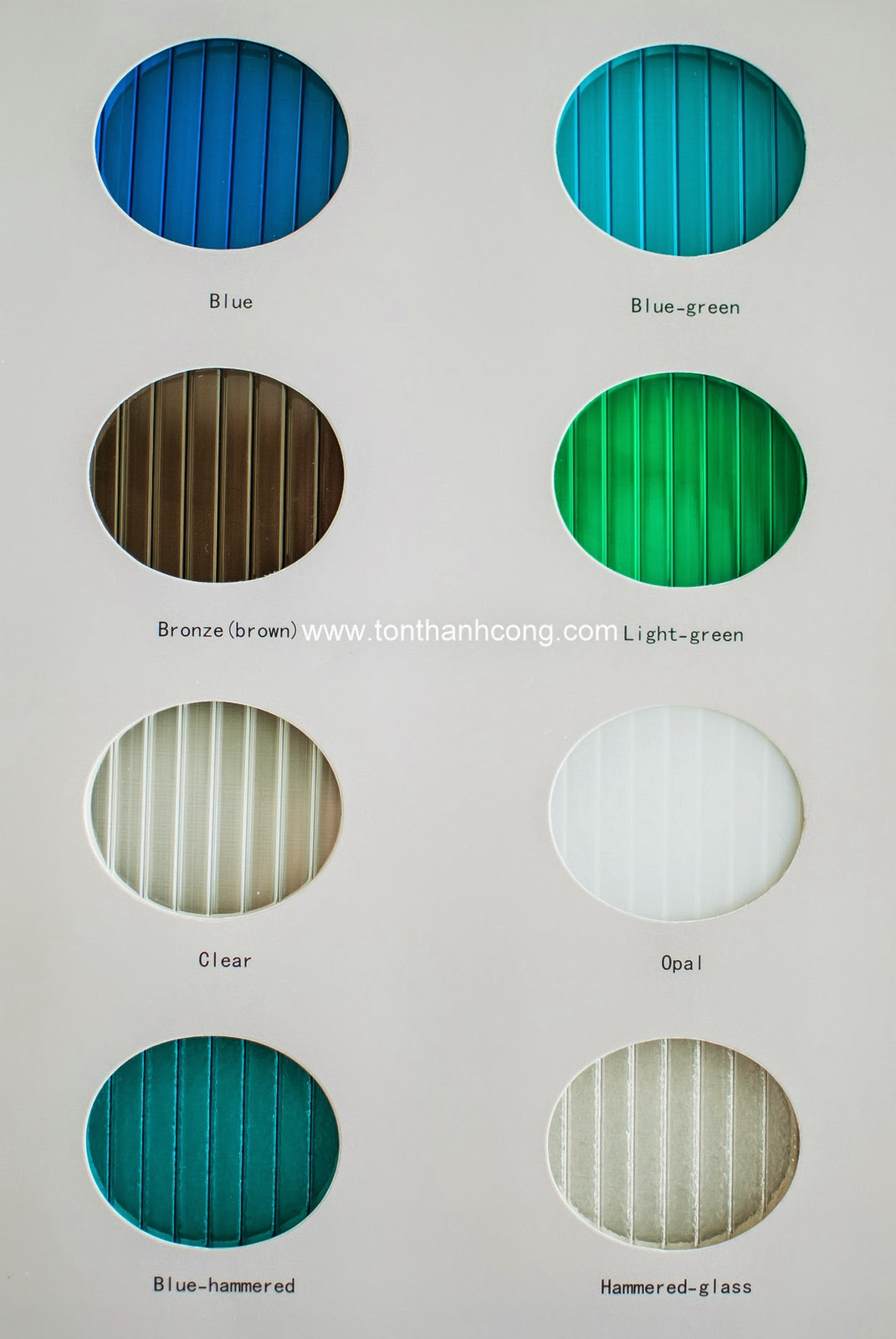 Catalogue Tấm Lấy Sáng Polycarbonate Rỗng Ruột NIPPON - Trang 2