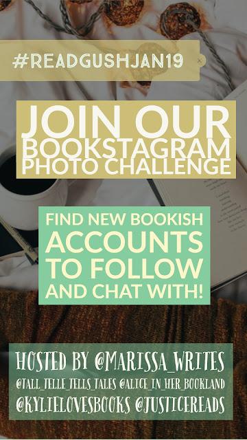 Read Gush January 2019 Bookstagram Challenge