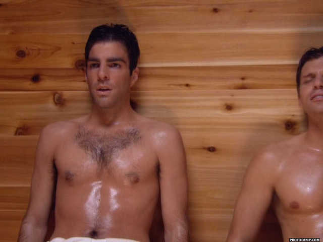 SHIRTLESS ACTORS : 15 pictures shirtless of Zachary Quinto